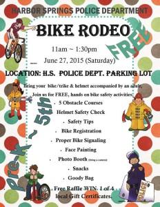 Bike Rodeo FLYER June 2015